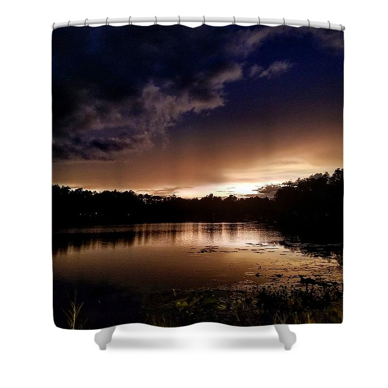 Water Falls Shower Curtains