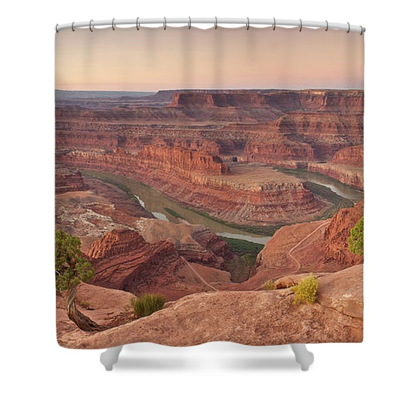 Scenics Shower Curtain featuring the photograph Dead Horse Point State Park, Utah by Enrique R. Aguirre Aves
