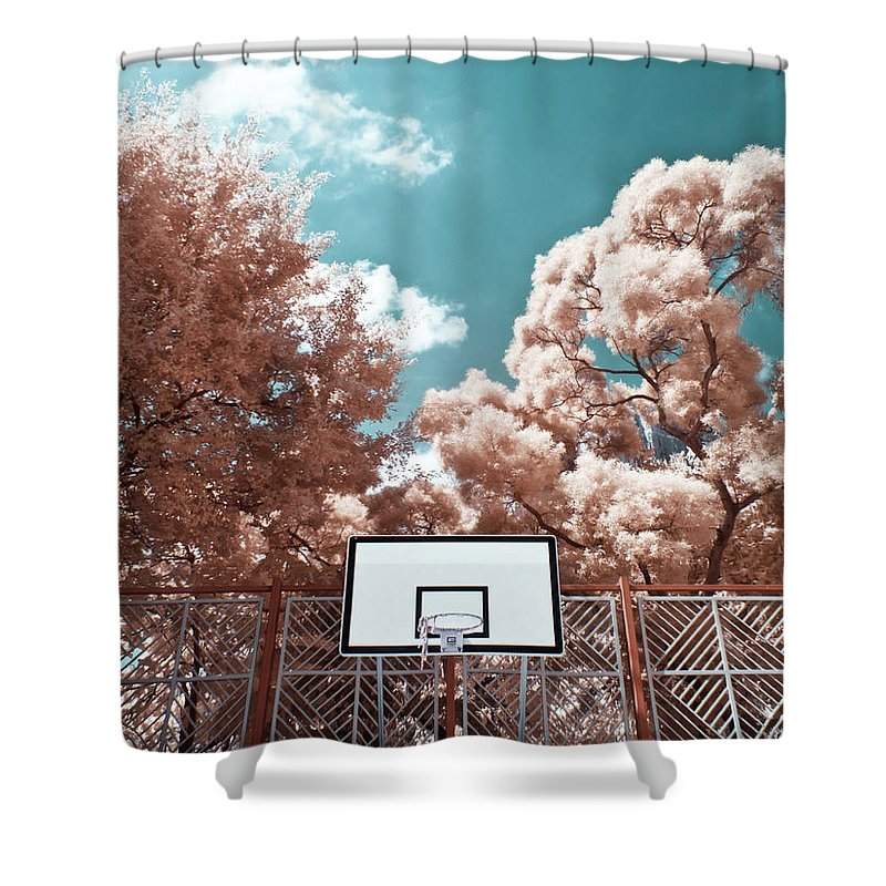 Tranquility Shower Curtain featuring the photograph Digital Infrared Photos by Terryprince