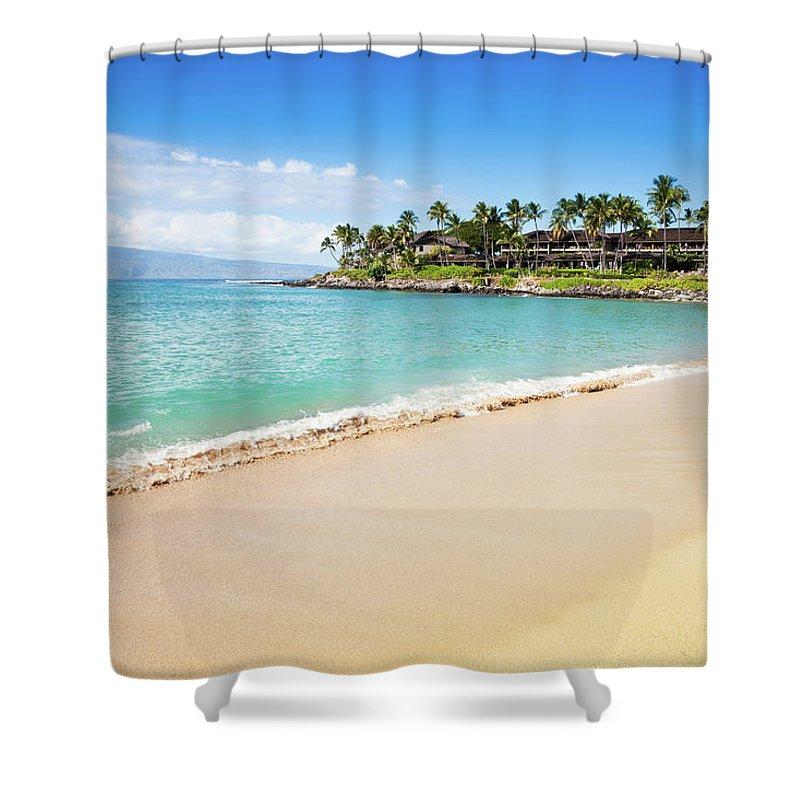 Lahaina Shower Curtain featuring the photograph Dream Beach Napili Bay Maui Hawaii by Mlenny