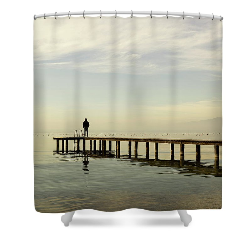 Scenics Shower Curtain featuring the photograph Dreams by Angiephotos