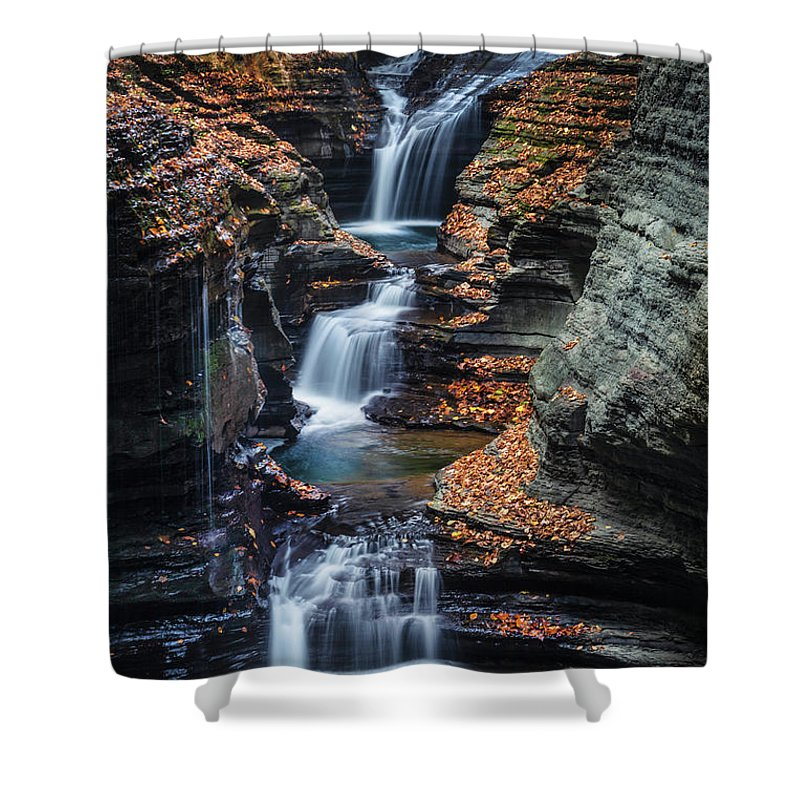 Kremsdorf Shower Curtain featuring the photograph Every Teardrop Is A Waterfall by Evelina Kremsdorf
