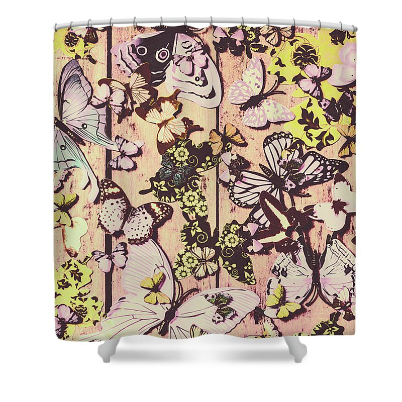 Butterfly Shower Curtain featuring the photograph Flight Patterns by Jorgo Photography - Wall Art Gallery