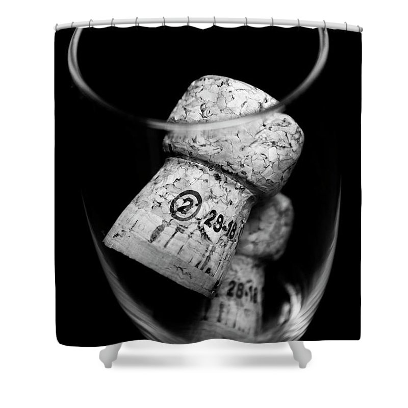 Wine Shower Curtain featuring the photograph Flute Celebration by Jorgo Photography - Wall Art Gallery
