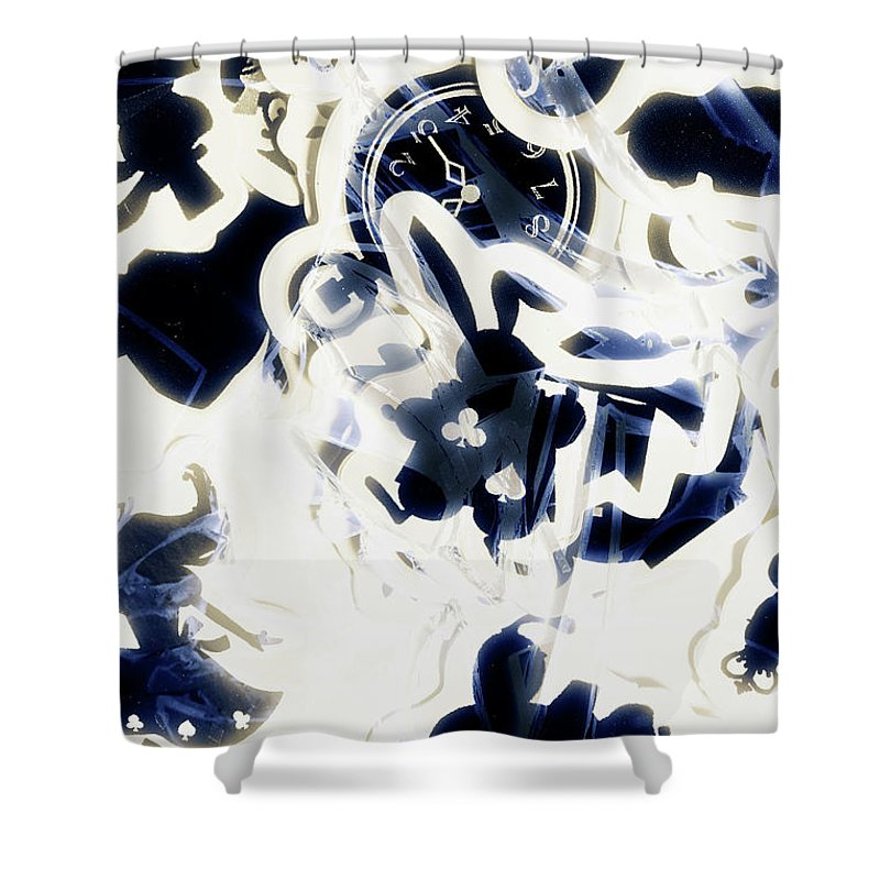 Rabbit Shower Curtain featuring the photograph Follow The Blue Rabbit by Jorgo Photography - Wall Art Gallery