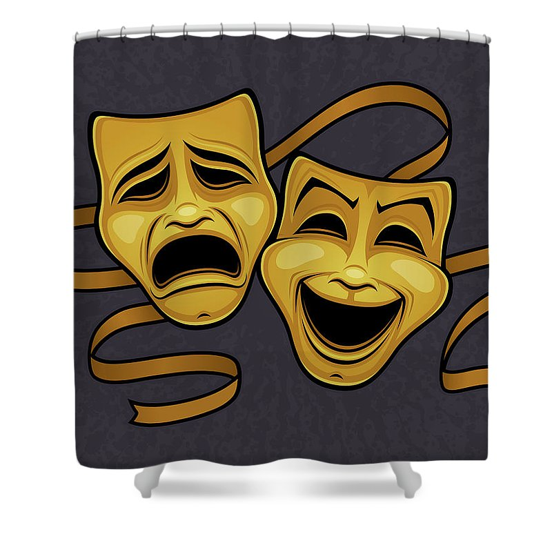 Live Theater Shower Curtains