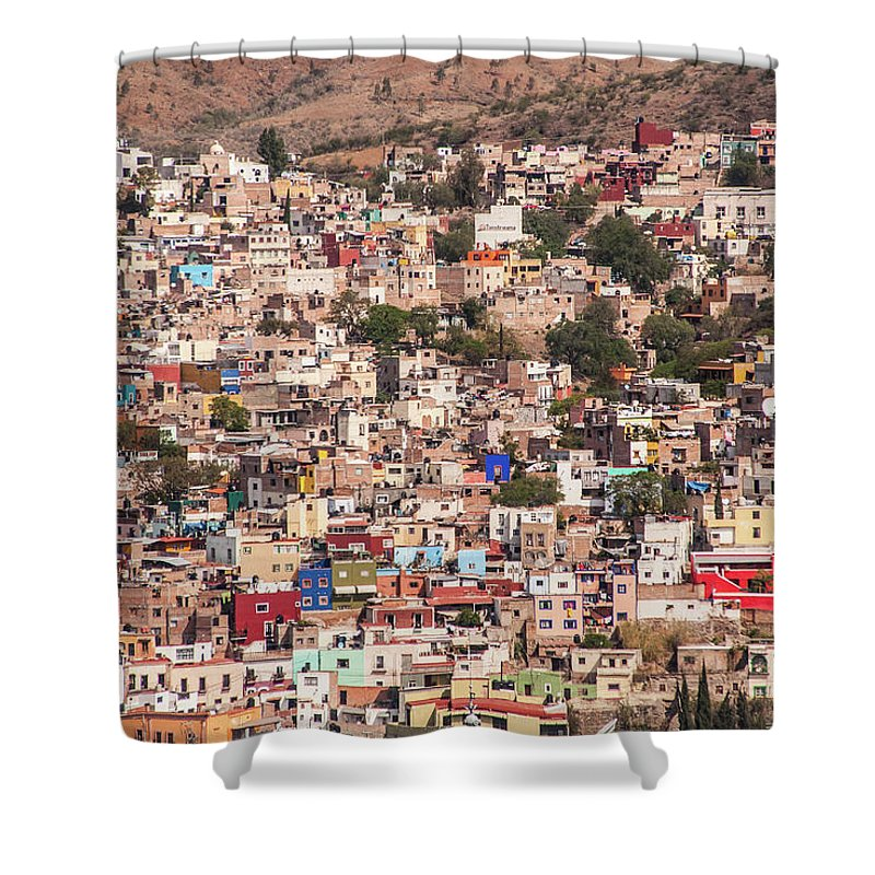 Scenics Shower Curtain featuring the photograph Guanajuato by Maryann Flick