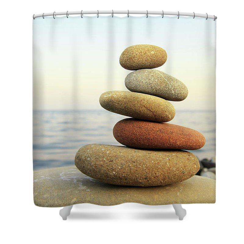 Recreational Pursuit Shower Curtain featuring the photograph Hierarchy And Balance by Petekarici