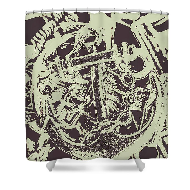 Beach Shower Curtain featuring the photograph Holding Helm by Jorgo Photography - Wall Art Gallery