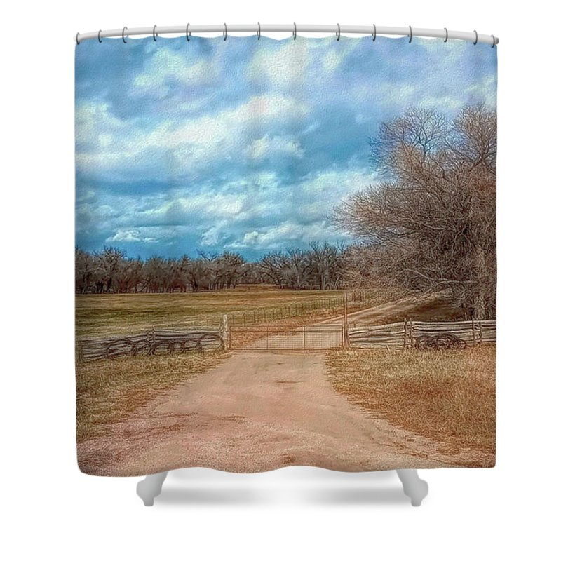 Colorado Shower Curtain featuring the photograph Home On The Range by Mike Braun