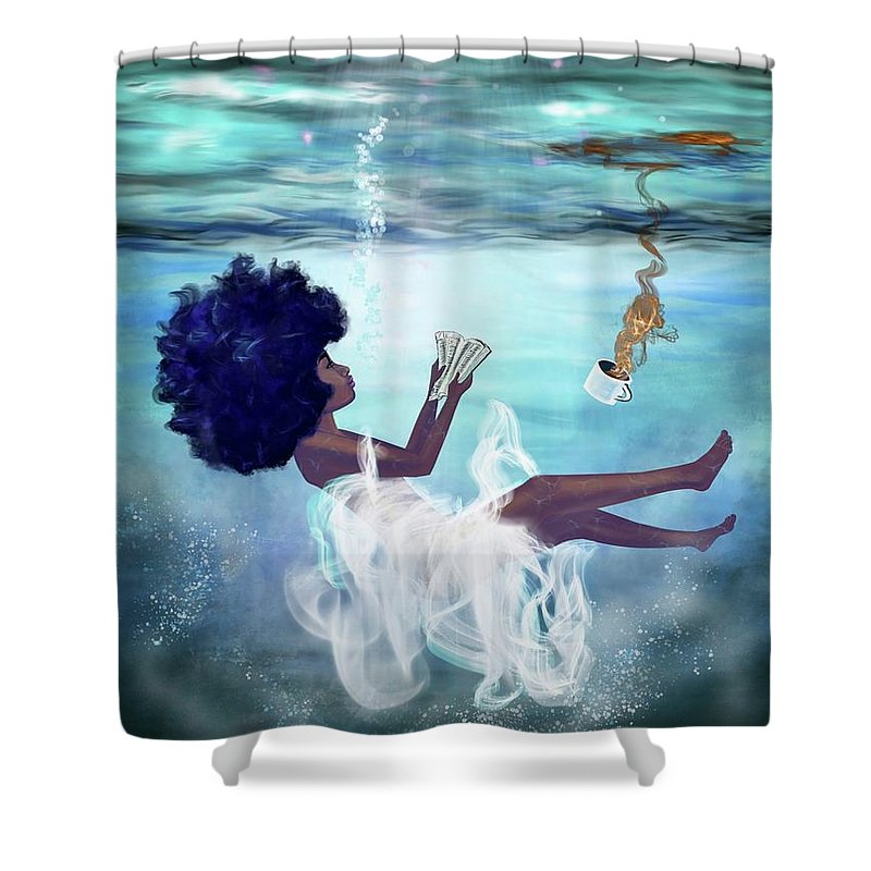 Woman Shower Curtains