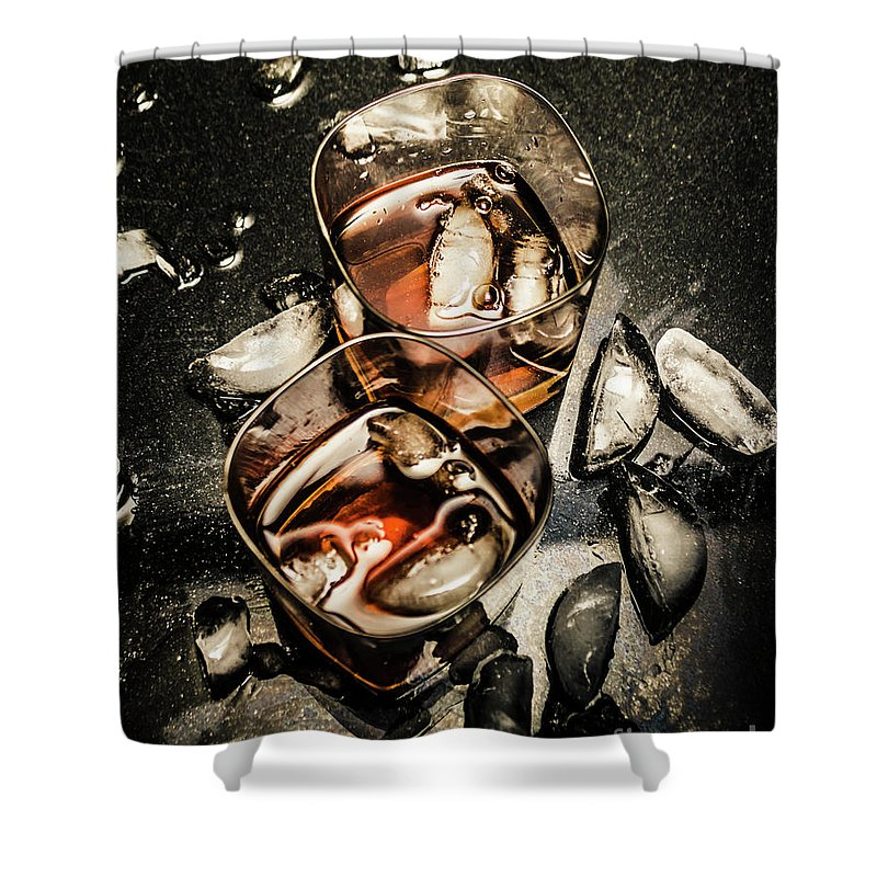 Drinks Shower Curtain featuring the photograph Ice Breaker by Jorgo Photography - Wall Art Gallery