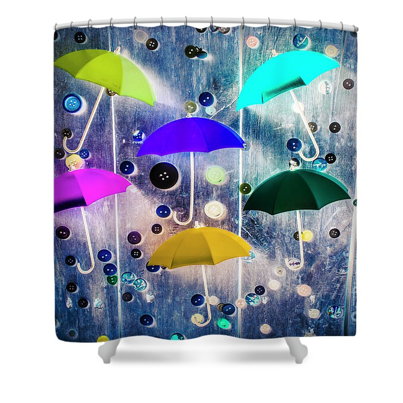 Artwork Shower Curtain featuring the photograph Imagination Raining Wild by Jorgo Photography - Wall Art Gallery