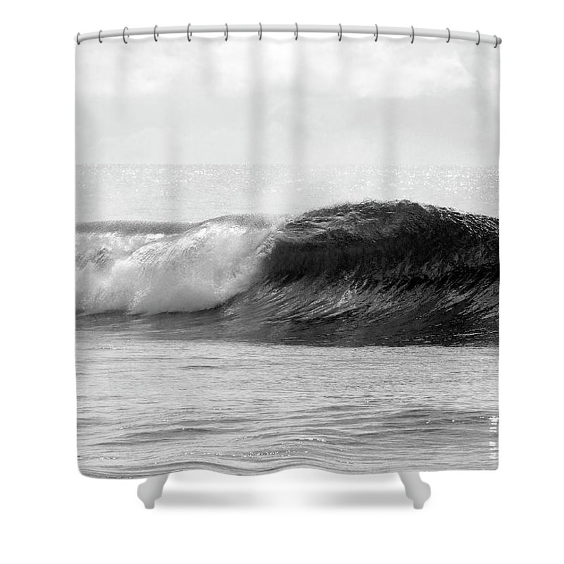 Curve Shower Curtain featuring the photograph Indonesia, North Maluku, Halmahera by Tropicalpixsingapore