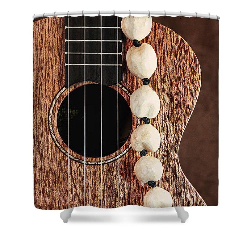 Kukui Shower Curtain featuring the photograph Island Music by Tom Mc Nemar