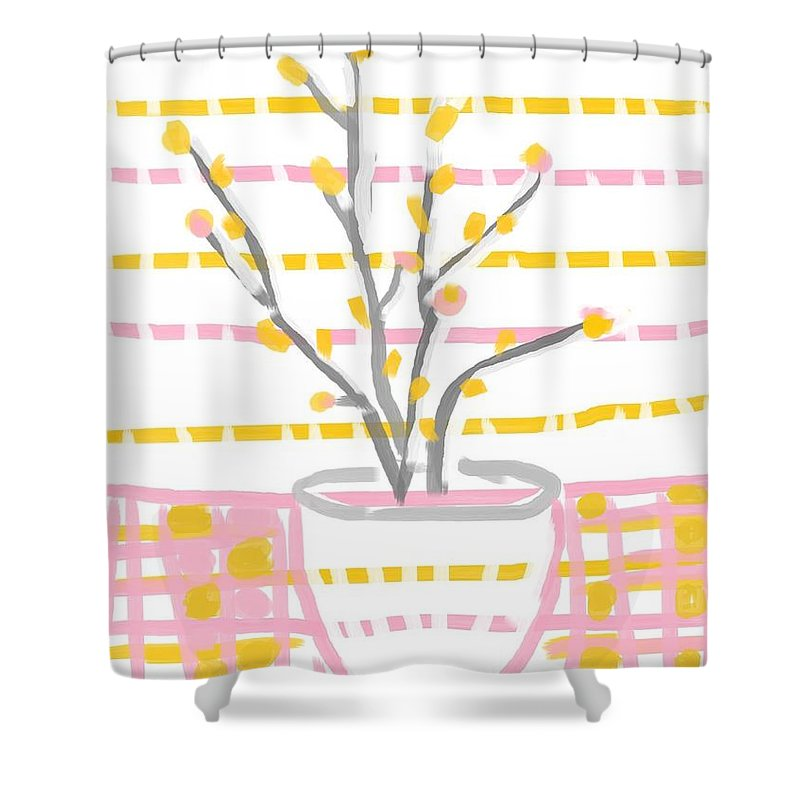 Its Spring Shower Curtain For Sale By Vesna Antic