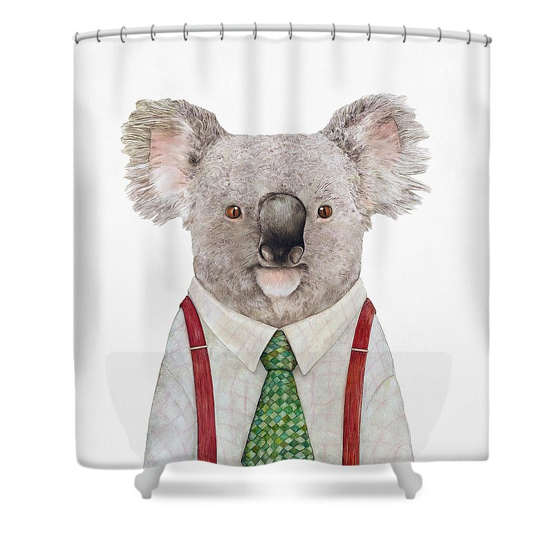 In Shower Curtains