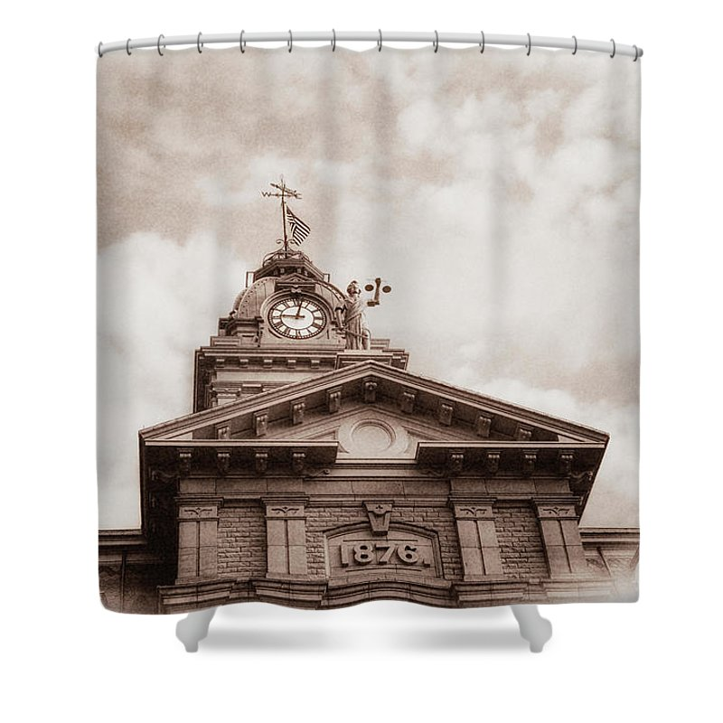 Courthouse Photographs Shower Curtains