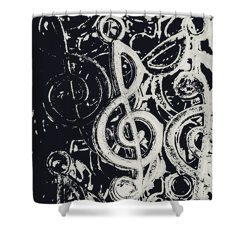 Orchestra Shower Curtain featuring the photograph Line Ensemble by Jorgo Photography - Wall Art Gallery