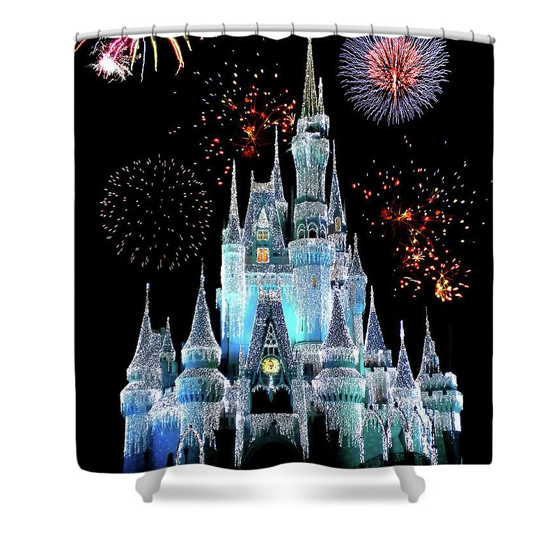 Wdw Photographs Shower Curtains