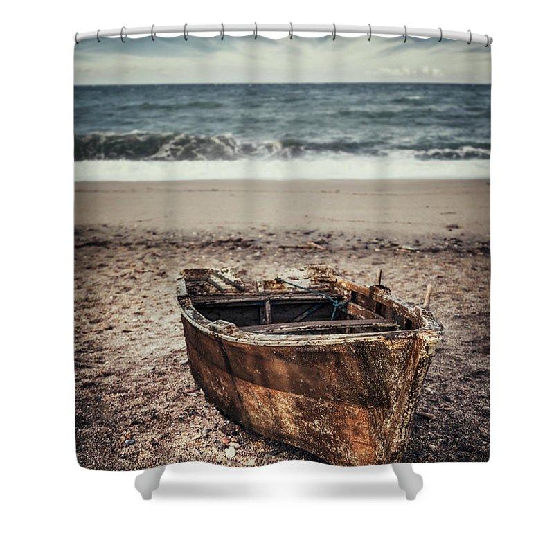 Kremsdorf Shower Curtain featuring the photograph Maritime Soul by Evelina Kremsdorf