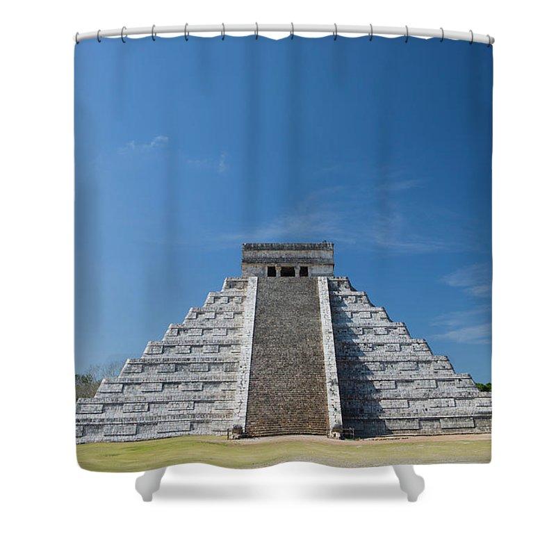 Latin America Shower Curtain featuring the photograph Mexico, Yucatan Peninsula, Yucatan by Adam Crowley