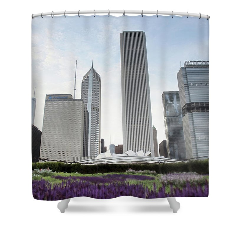Millennium Park Shower Curtain featuring the photograph Millennium Park by By Ken Ilio