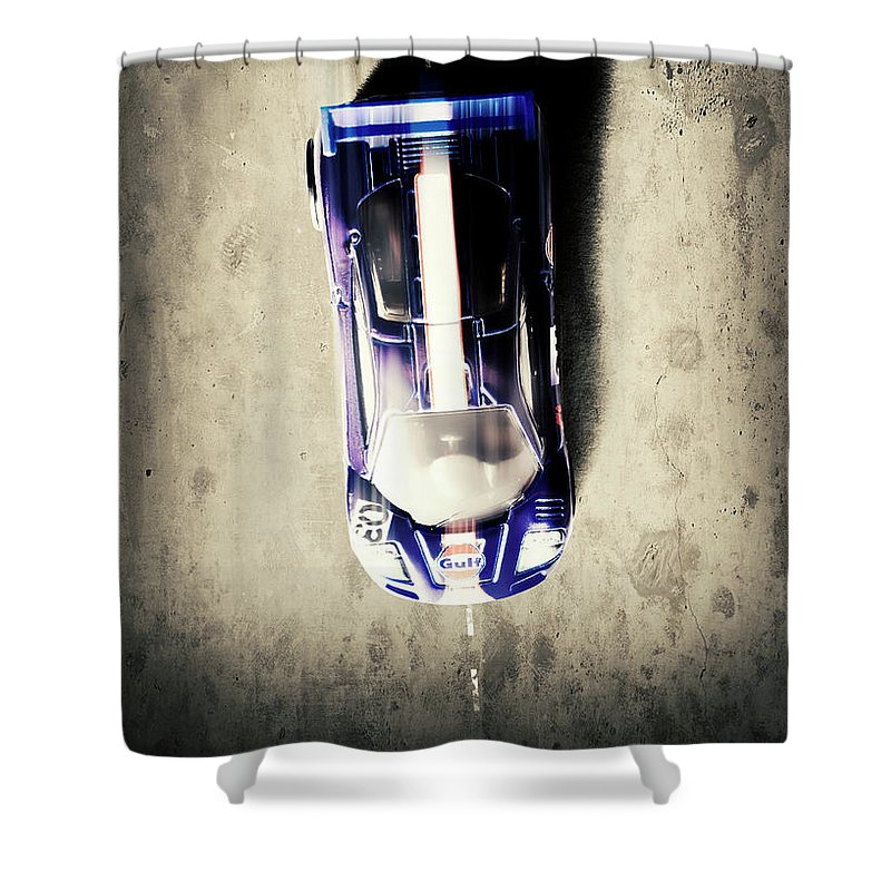 Speed Metal Shower Curtains