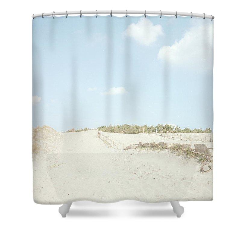 Scenics Shower Curtain featuring the photograph Nakatajima Sand Dunes by Haribote.nobody