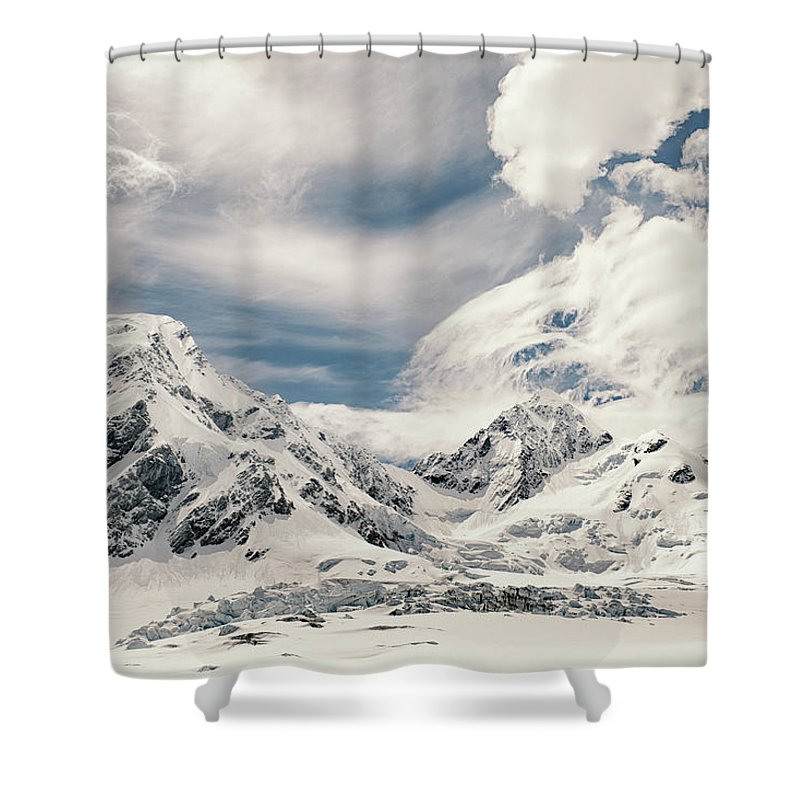 Tranquility Shower Curtain featuring the photograph Nz Landscapes by Devon Strong