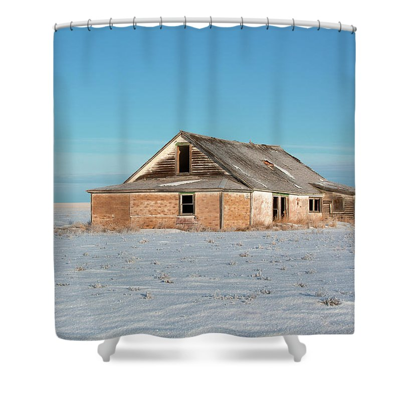 Old Shower Curtain featuring the photograph Old Dewald Place by Todd Klassy