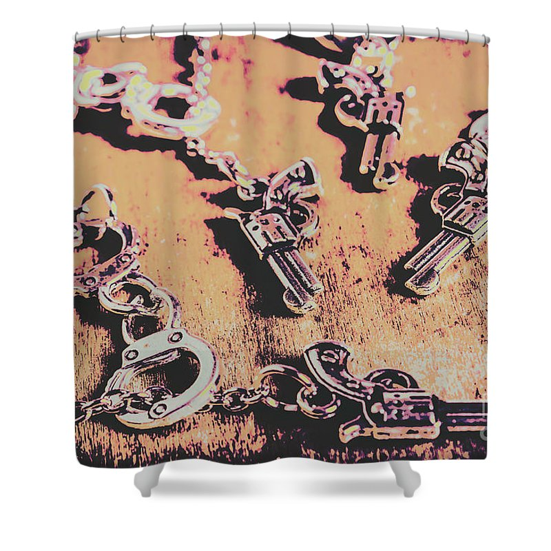 Wild West Shower Curtain featuring the photograph Outlaw Frontiers by Jorgo Photography - Wall Art Gallery