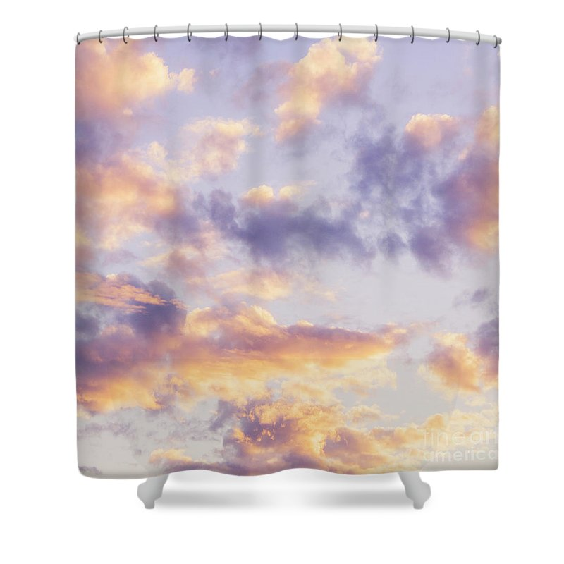 Pastel Shower Curtain featuring the photograph Pastel Cloudscape by Jorgo Photography - Wall Art Gallery
