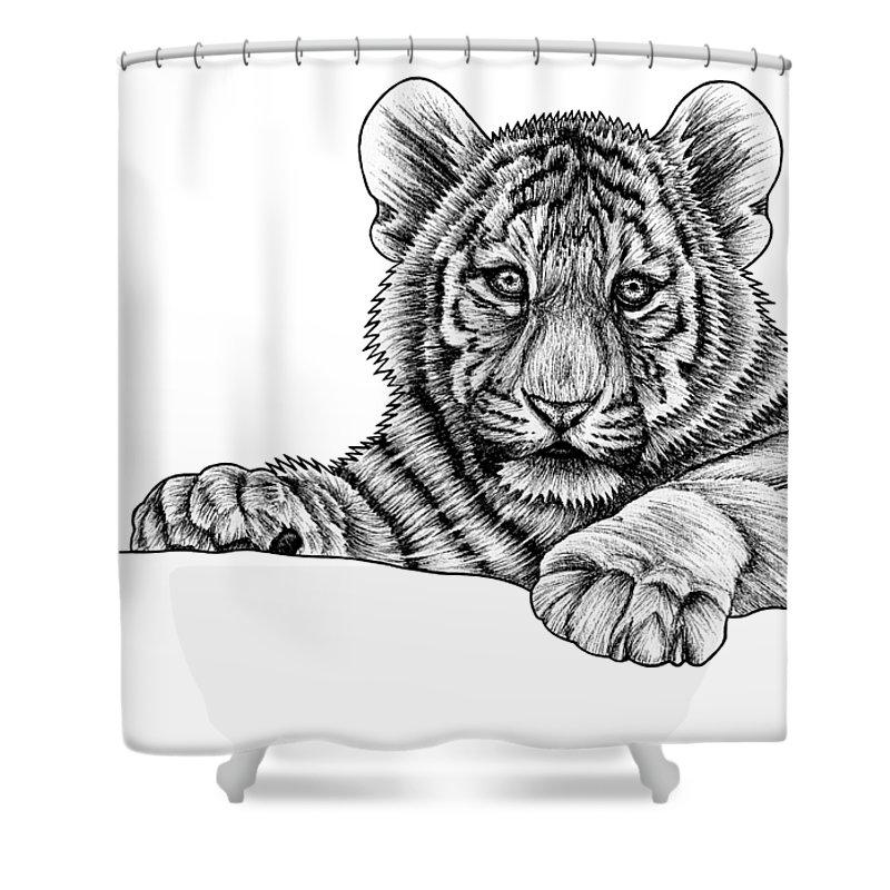 Siberian Cat Shower Curtains
