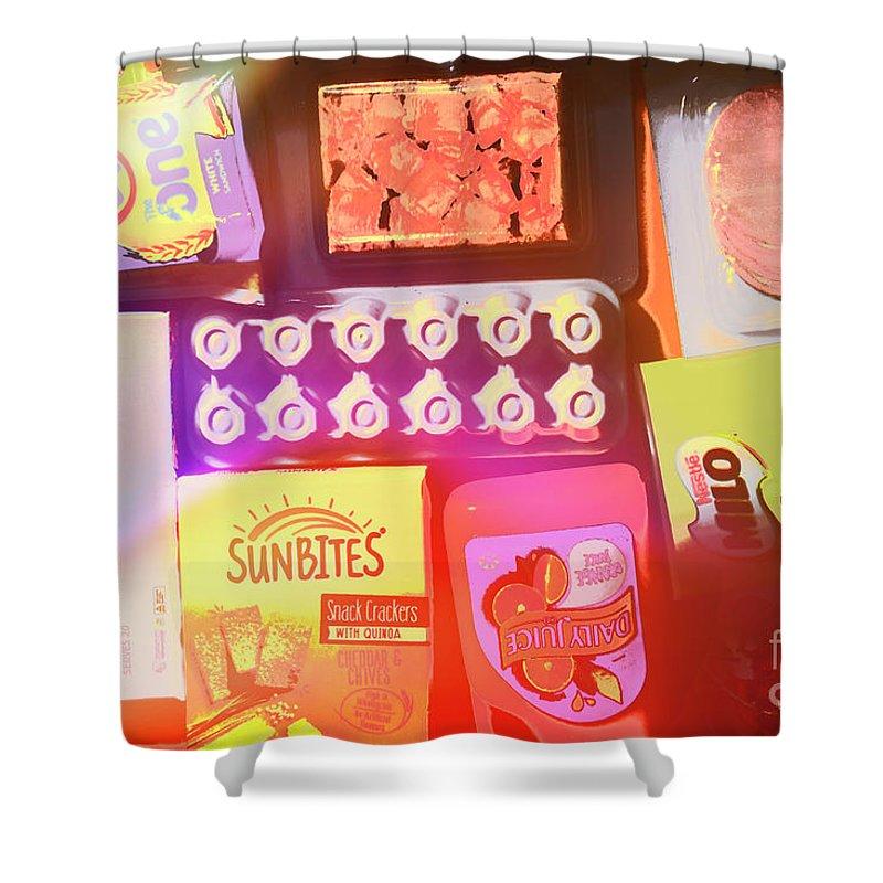 Pop Art Shower Curtain featuring the photograph Pop Shop by Jorgo Photography - Wall Art Gallery