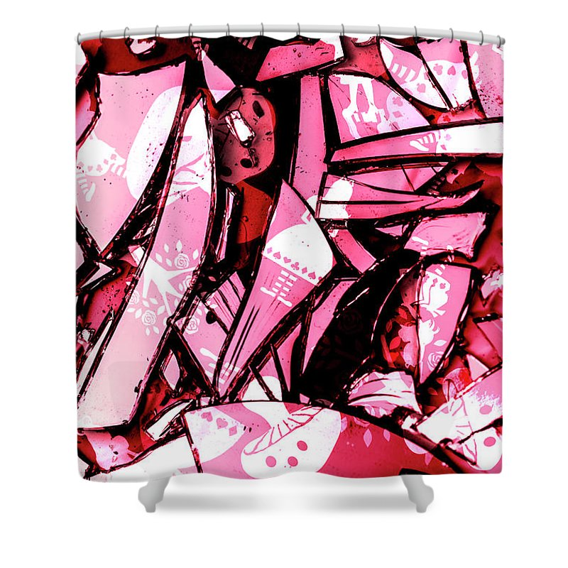 Mirror Shower Curtain featuring the photograph Predictive Deprogramming by Jorgo Photography - Wall Art Gallery