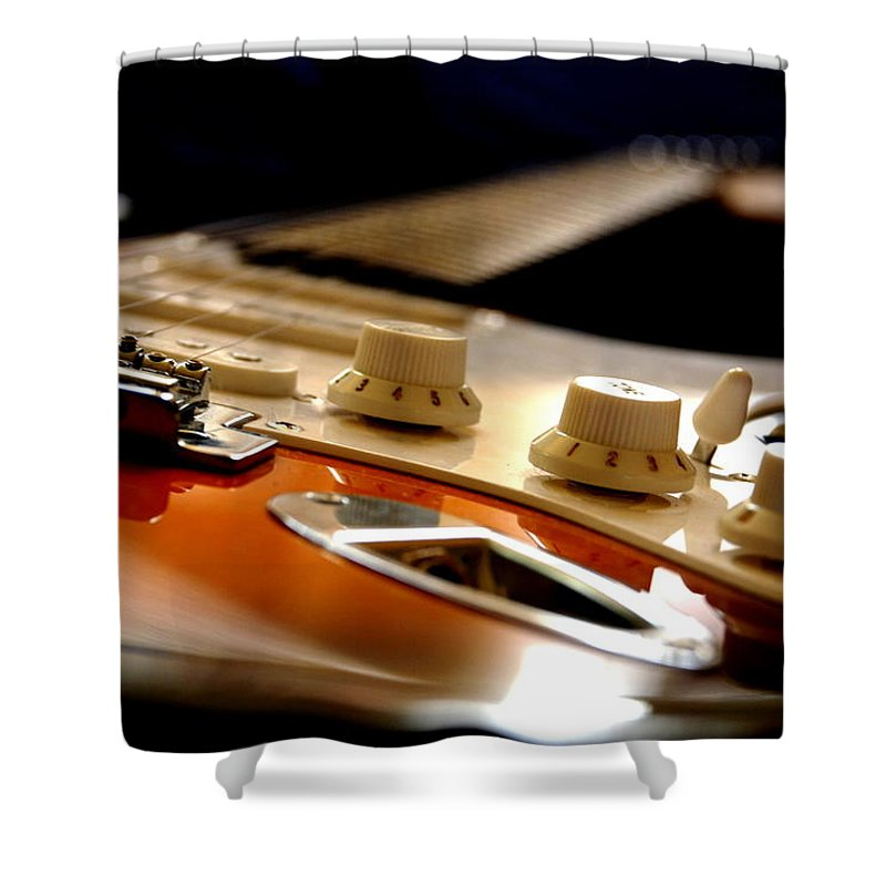 Music Shower Curtain featuring the photograph Rock & Soul by Pasotraspaso. Jesus Solana