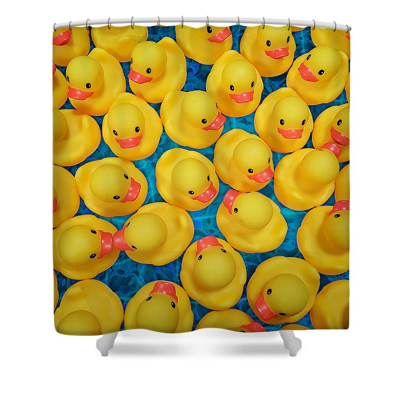 Studio Dalio - Rubber Duckies Shower Curtain