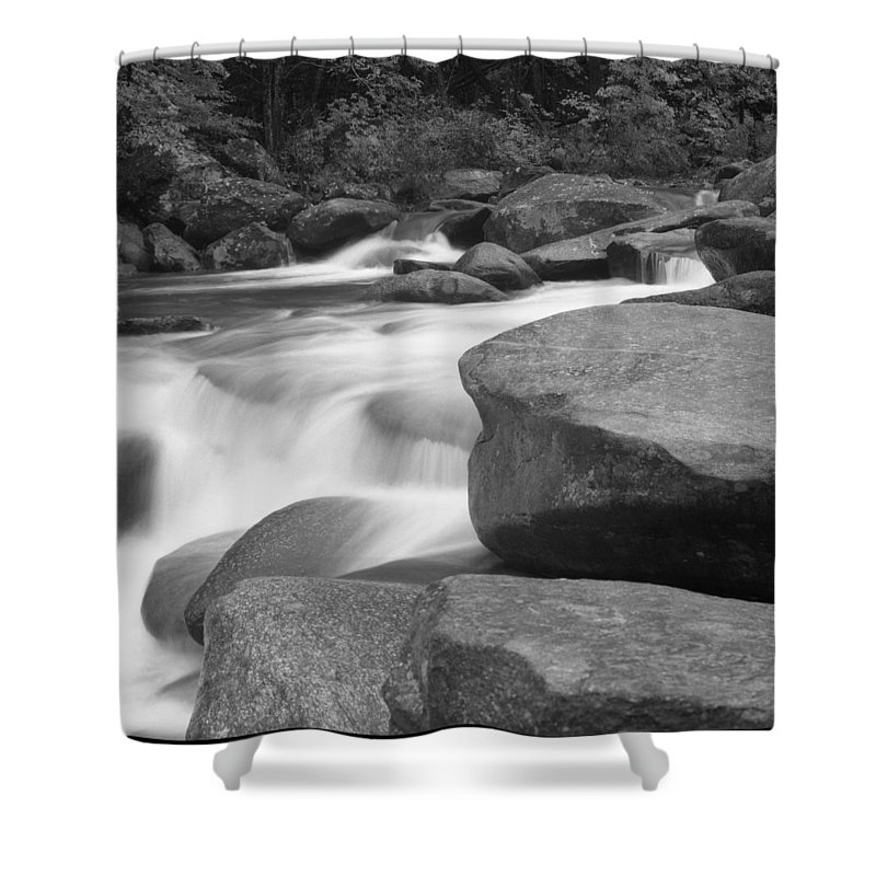 North Carolina Shower Curtain featuring the photograph Rutheford County,north Carolina, Rocky by Holden Richards