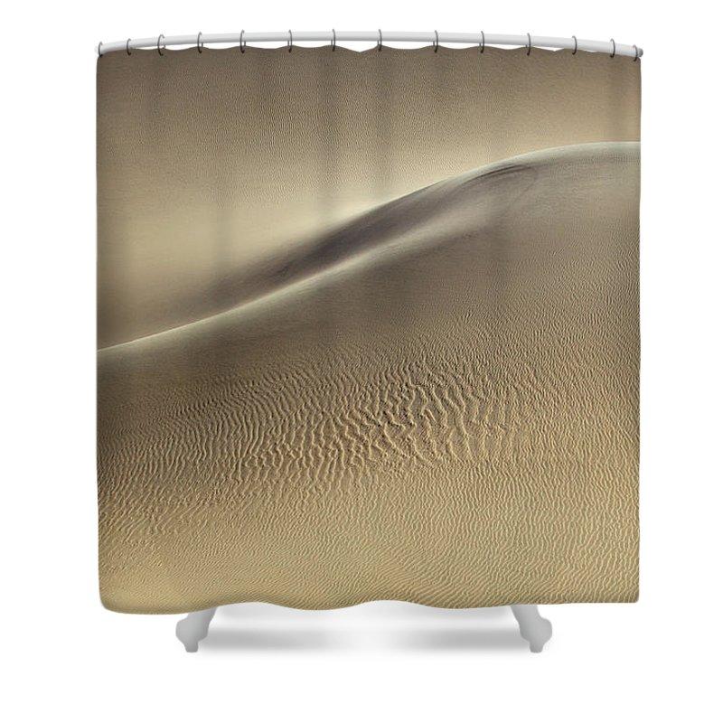 Sand Dune Shower Curtain featuring the photograph Sand Dunes by Rob Kroenert