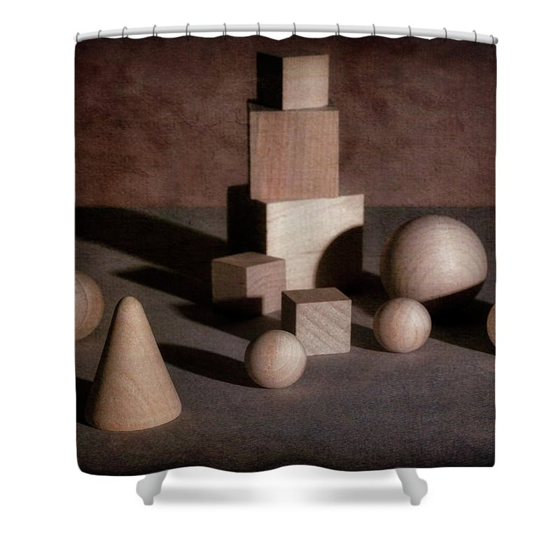 Shape Shower Curtain featuring the photograph Shape And Shadow by Tom Mc Nemar