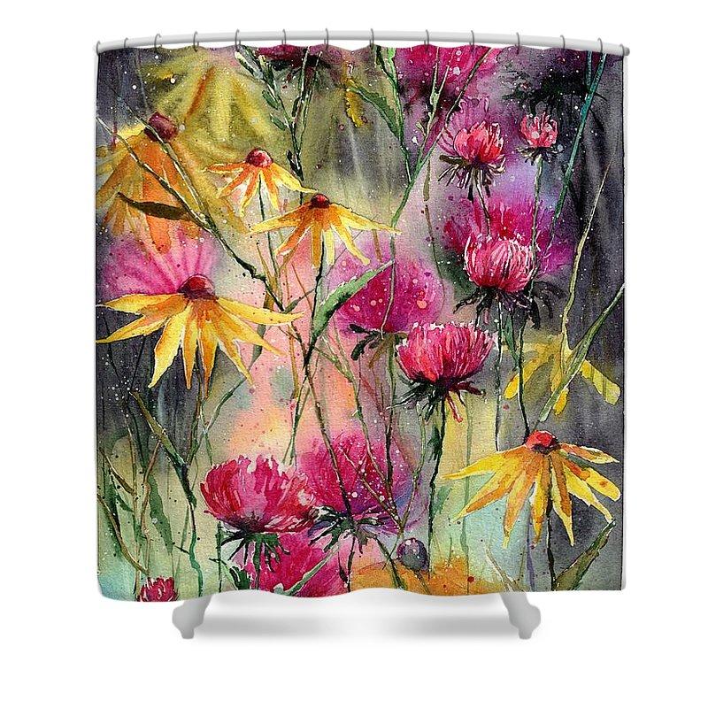 Ecosystem Shower Curtains