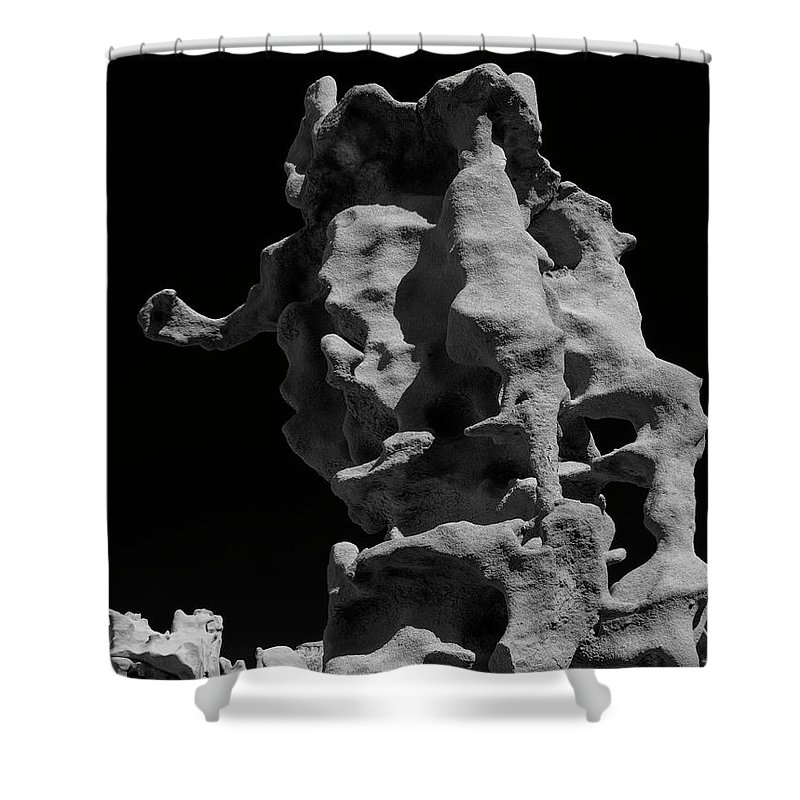 Fantasy Canyon Shower Curtain featuring the photograph Siltstone Curl by Mike Dawson
