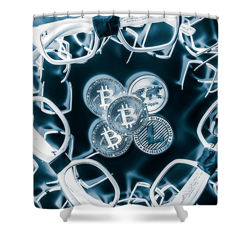 Ico Shower Curtain featuring the photograph Smart Investors by Jorgo Photography - Wall Art Gallery