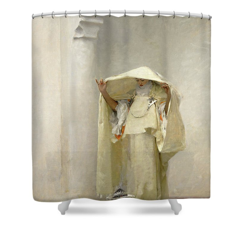 John Singer Sargent Shower Curtain featuring the painting Smoke of Ambergris by John Singer Sargent