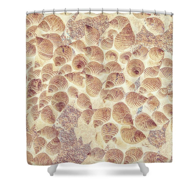 Beach Shower Curtain featuring the photograph Spiral Seaside by Jorgo Photography - Wall Art Gallery