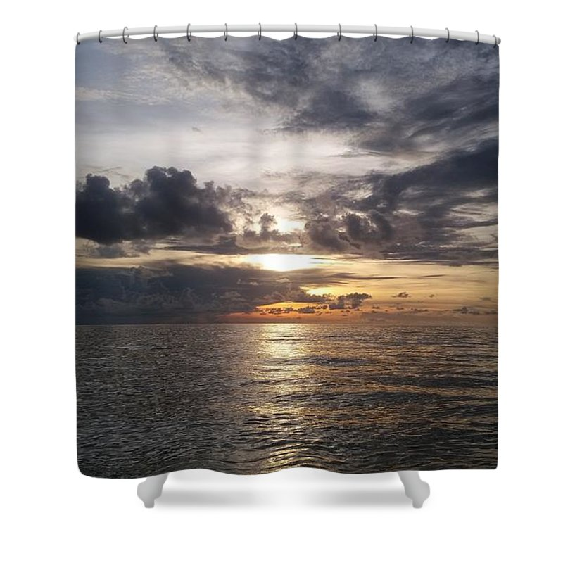Golden Hour Shower Curtains