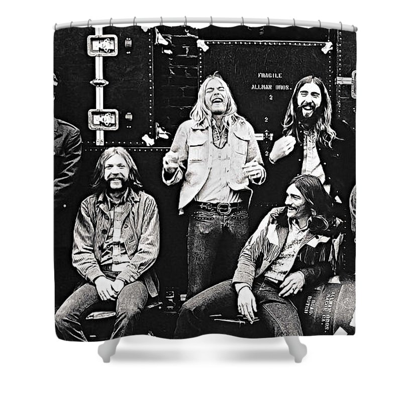 Allman Brothers Shower Curtains
