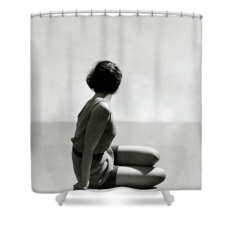 The Diver Art Deco 1920 Swim Wear Fashion Shower Curtain For Sale By Thomas Pollart