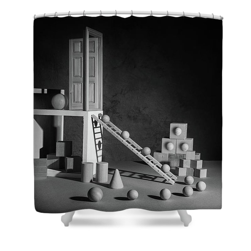 Ladders Shower Curtains